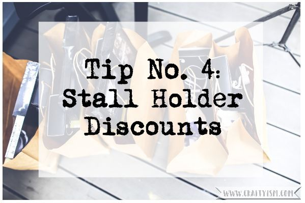 5 Top Tips Visiting a Craft Show - Tip 4