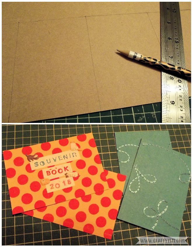 How to Make Easy Yearly Journal covers