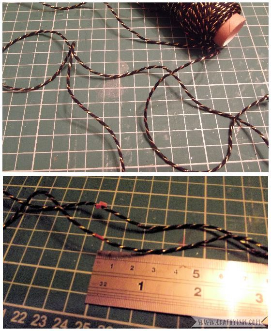 How to Make Easy Yearly Journal fastenings