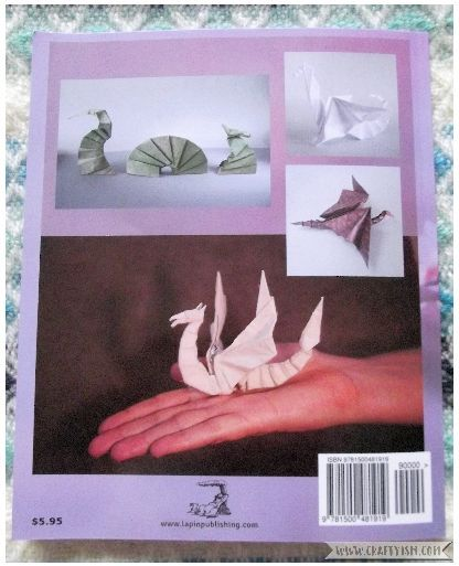 Review - Origami Dragons by Tom Stamm Back
