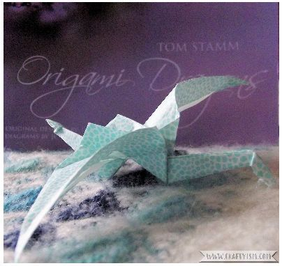 Review - Origami Dragons by Tom Stamm Finished
