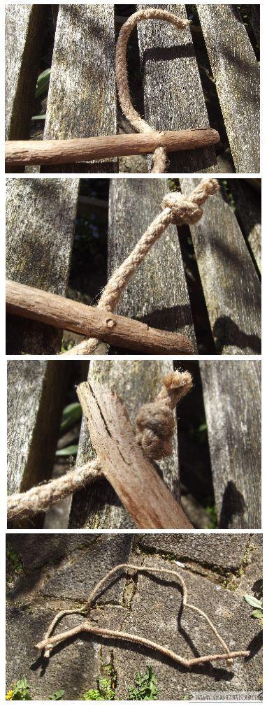 How to tutorial - Hanging Kokedama Mobile   rope