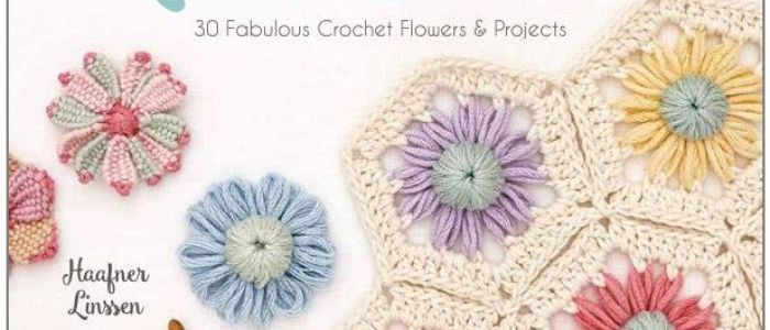 Review - Crochet Loom Blooms by Haafner Linssen | Title