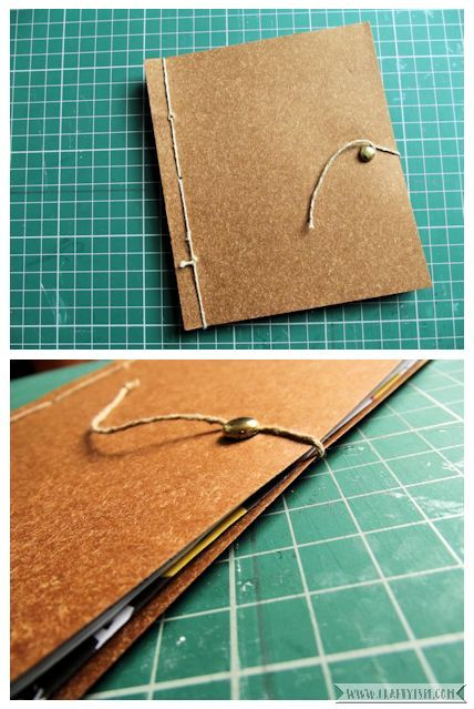 Craftyism - Upcylced Envelope Notebook | Finished