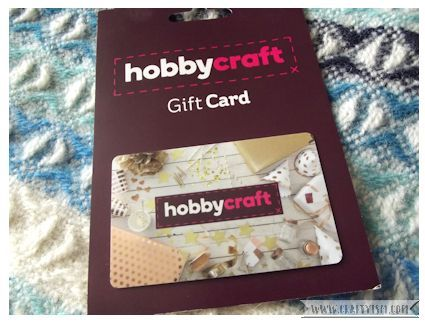 Craftyism 1st Birthday Giveaway Gift Card