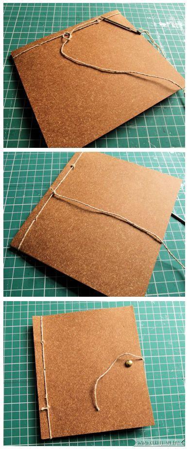Craftyism - Upcylced Envelope Notebook | Fastening 2