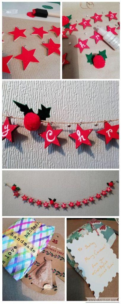 Craftyism - #CraftBlogClub Secret Santa 2018   my make
