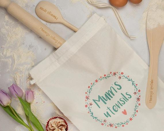 Craftyism - Crafty Mother's Day Etsy Gift Guide   mum baking set