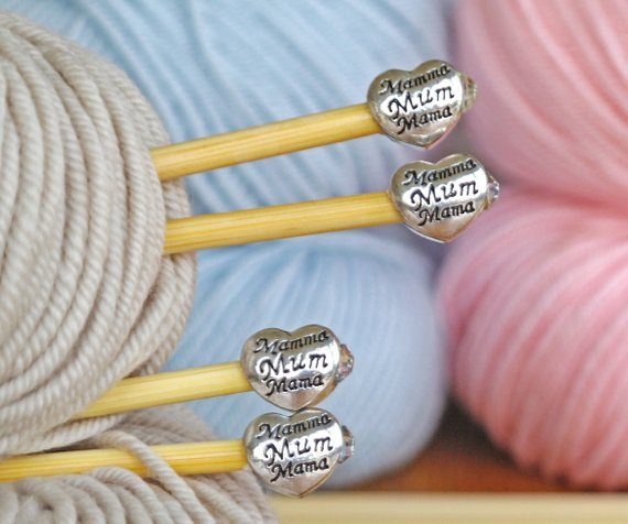 Craftyism - Crafty Mother's Day Etsy Gift Guide   mum knitting needles