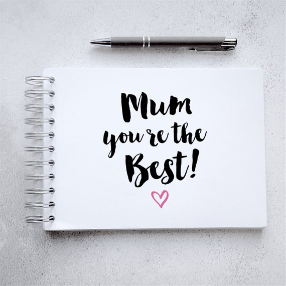 Craftyism - Crafty Mother's Day Etsy Gift Guide   Mum Scrapbook