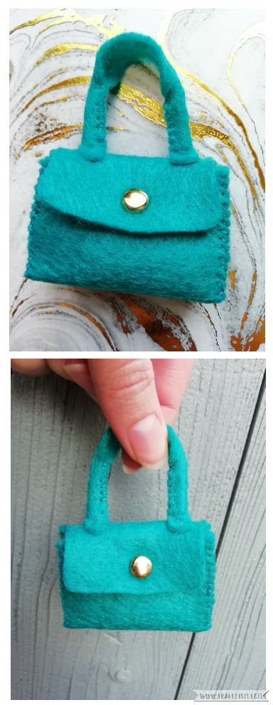 Craftyism - How to-Miniature Handbag | Finished project