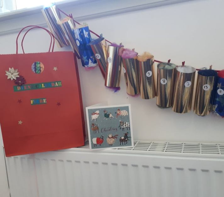 Craftyism| Advent Calendars for Crafters | Fibre Advent Calendar by Tine and Floyd