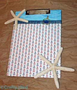 Anchors Away Clipboard ©CraftyJBird