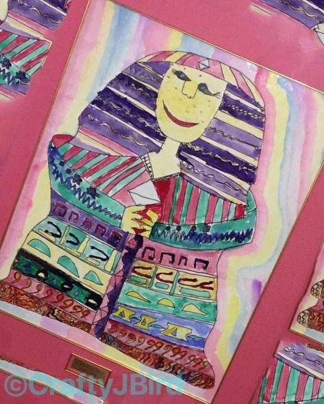 JBird's 5th grade Egyptian Painting