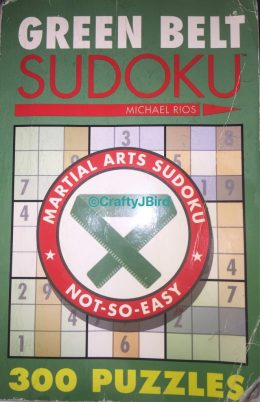 Sudoku -- Visit CraftyJBird.com for more info...