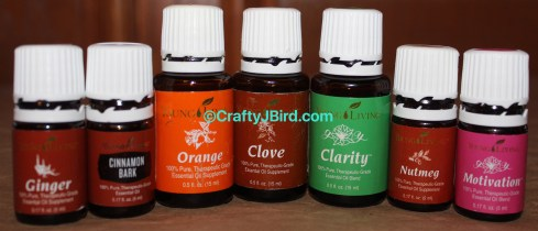 Thanksgiving Scents -- Visit CraftyJBird.com for more info...