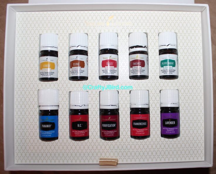 Young Living Starter Kits -- Visit CraftyJBird.com for more info...