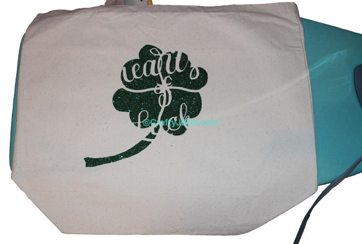 Hearts of Luck Clover Bag -- Visit CraftyJBird.com for more info...