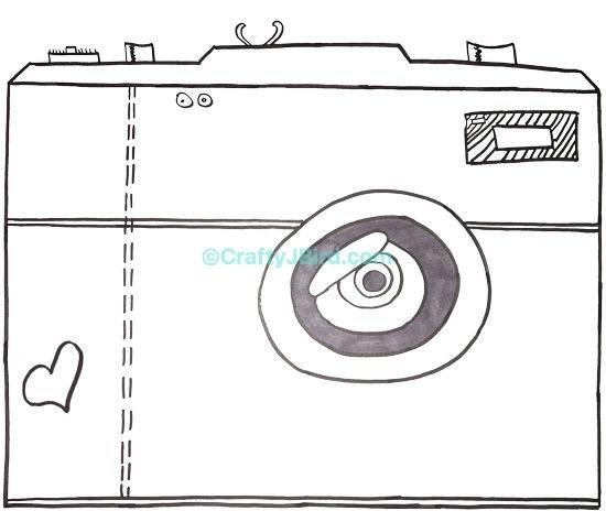 Scrapbooking Drawings -- Visit CraftyJBird.com for more info...