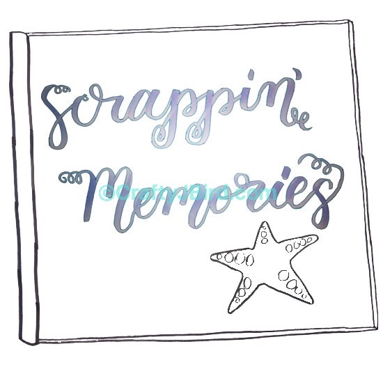 Scrappin Memories -- Visit CraftyJBird.com for more info...