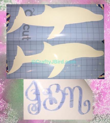 Teacher Dolphin Clipboard -- Visit CraftyJBird.com for more info...