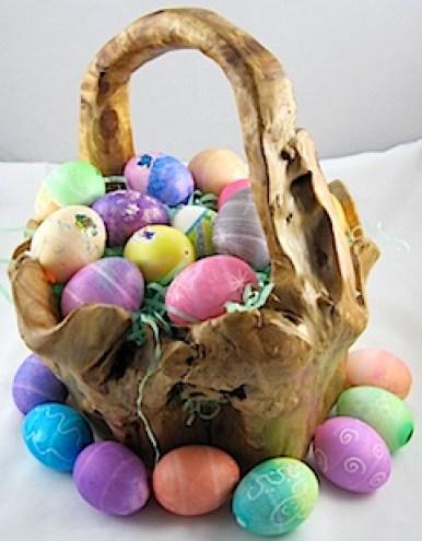 Basket of Blown Eggs - Crafty Journal