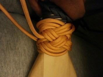 5x4 Turks Head knot