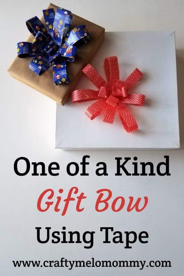 Easy DIY gift bow