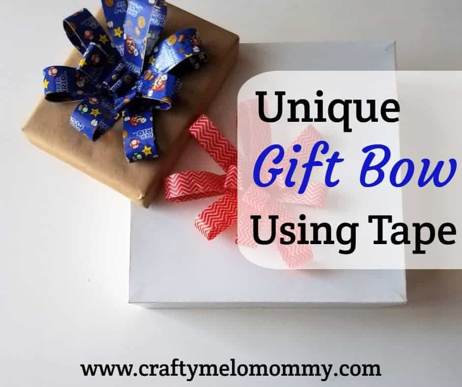 Unique, Easy, and Fast DIY Gift Bow