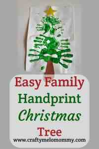 Easy Fun Family Christmas Craft
