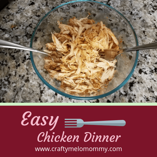 What's for dinner? Slow cooker chicken recipe
