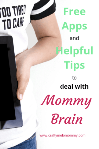 Struggling with momm brain forgetfulness? Try these tips and apps.