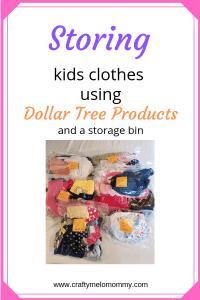 Make storing clothes easy! #organizekids #mommylife #needmoretime
