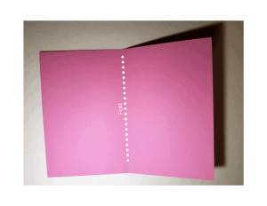 diy thank you cards for childs birthday