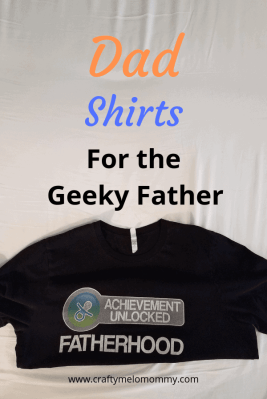 Geeky Dad Humor Shirts! Includes some matching shirts for daughter, son, and baby.