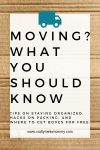 Tips and tricks on how to stay organized with your packing and how to pack books dishes efficiently.