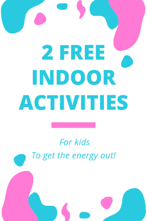 Easy indoor summer preschool and toddler activities.  Great for burning off energy at home.