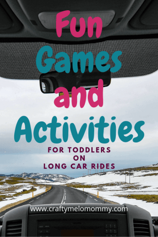 Keep your toddler busy during a long car ride with these fun games and activities.