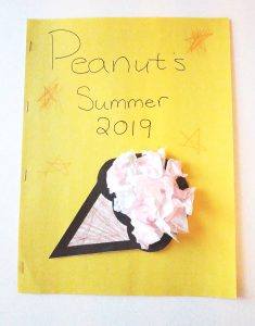 Summer memory book for kids