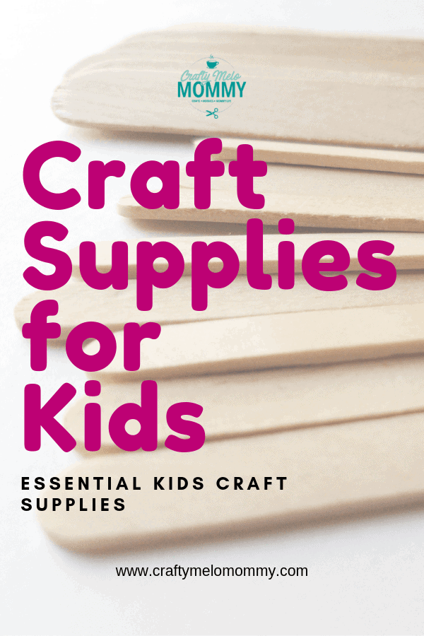 Not sure where to start with the craft box for your child? Take a look at these essential craft supplies for kids