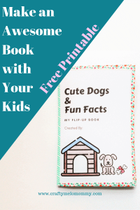 Looking for a new book? Why not make one with your kids?