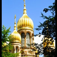 Wiesbaden - Russian Church & Funicular Railway