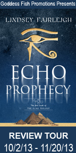 Echo Prophecy (Echo Trilogy, #1) #booktour #bookreview #giveaway