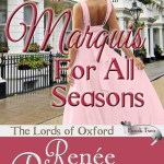 A Marquis For All Seasons by Renee Reynolds #bookreview @goddessfish #giveaway