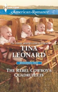The Rebel Cowboy's Quadruplets by Tina Leonard #bookblast @goddessfish