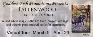 Fallenwood by Leslie D. Soule #authorinterview @Goddessfish