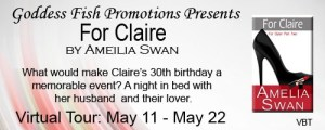 For ClairebyAmelia Swan #bookReview @goddessfish