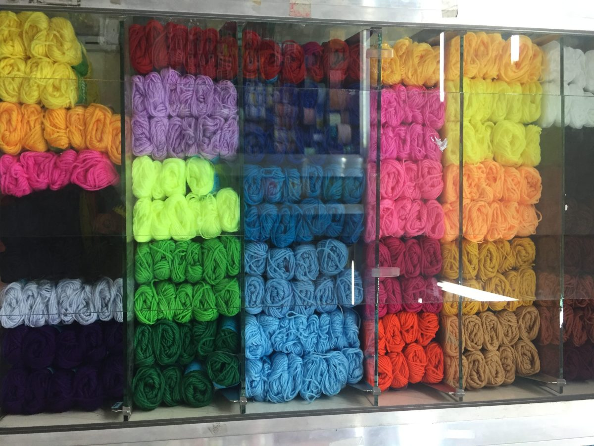 Buying Yarns in Cebu, Philippines