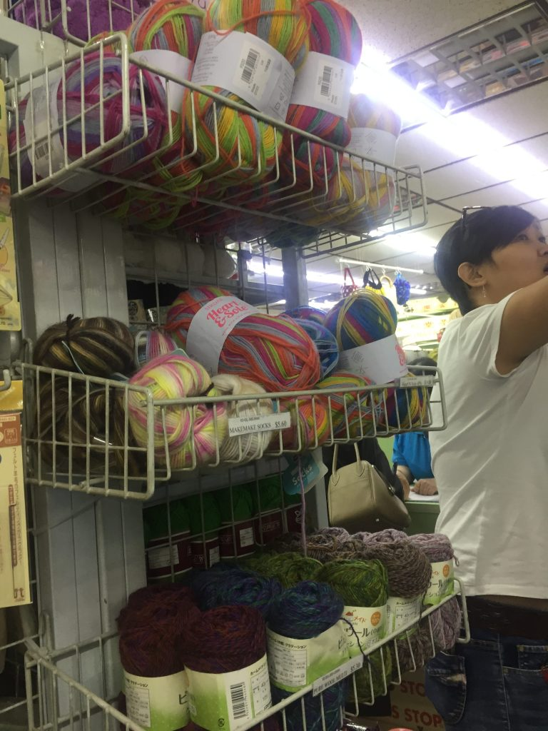 Yarn Shops Hopping in Singapore – craftynanay