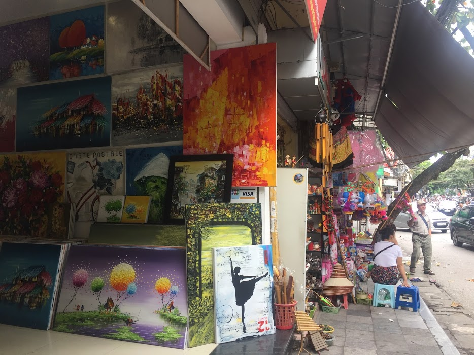 Yarn Shops & Shopping in Hanoi, Vietnam